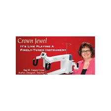 Baby Lock Crown Jewel Long Arm Quilting Machine - iCanHelpSew.com & Baby Lock Crown Jewel Long Arm Quilting Machine Adamdwight.com