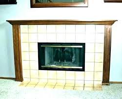 fireplace glass doors replacement door