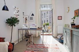 home office style. design ideas of home office in scandinavian style e