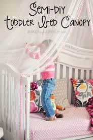 Semi DIY: Scarlette's Cute & Crafty Canopy Bed | Girls bedroom | Diy ...