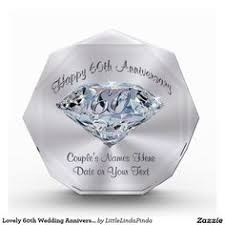 lovely 60th wedding anniversary gifts personalized