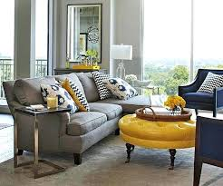 blue and grey decor magnificent ideas grey and yellow living room decor living room yellow grey