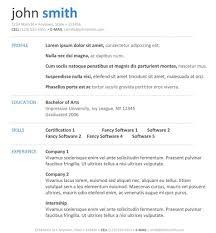 Printable Resume Samples dermafiwpcontentuploads100100printabler 40