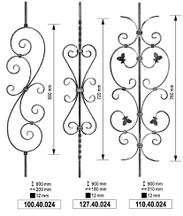 Wrought Iron Designs China Producer Manufacture Solid Bar Of Wrought Iron