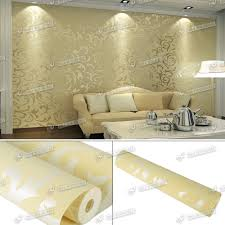 Wallpaper For Living Room Feature Wall Gold Silver Embossed Designer Feature Wall Wallpaper Luxury