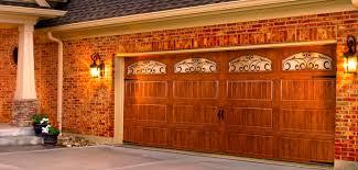 steel wood grain collection garage door openers