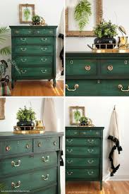 green painted furniture. Layering Chalk Paint Green Painted Furniture