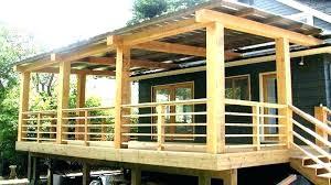 deck railing options custom builders designs