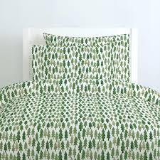 green duvet cover dark