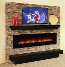 excellent wall mounted electric fireplace heater modern