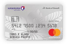 Hawaiian Airlines Business Mastercard Reward Your Business