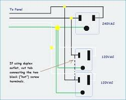 220 110 wiring diagram wiring wiring diagrams instructions Electric Motor Wiring Diagram how to install a volt outlet wiring diagram 220 volts 110 edetroit