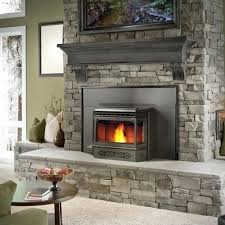 wood pellet fireplace insert napoleon englander