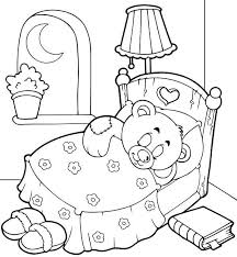 Small Picture Sleeping Coloring Page Coloring Page Of Child Sleepinggif Pages