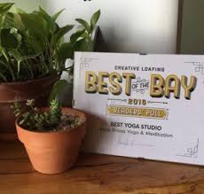 thank you so much to our munity for voting bella prana yoga studio the best yoga studio in ta bay for the third time