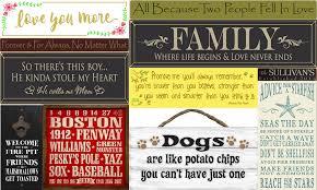 wood signs sayings