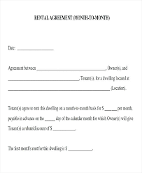 Room Rental Contract 8 Room Rental Agreement Form Samples Sample Templates For