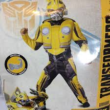 Disguise Size Chart Transformers Bumblebee Child Costume Sz 10 12 Nwt
