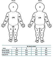 Pediatric Burn Diagram Wiring Diagrams