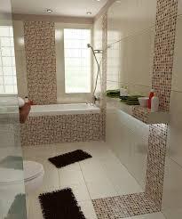 Badezimmer Fliesen Beige Bilder 3d Interieur Braun Inside Bad Weis