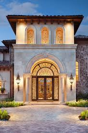 mediterranean outdoor lighting. Home Entry Decor Mediterranean With Outdoor Lighting Stone