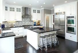 black granite countertops with white cabinets kitchen black white kitchen with black kitchen black granite s