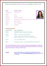 ... Resume Sample Profile for Marriage Elegant Sample Resume for Marriage  Proposal ...