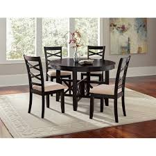 round dining room table for 6. Round Kitchen Dinette Sets Tables At Value City Dining Room Table For 6 Small 5 Piece Set