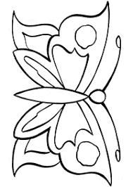 蝶の塗り絵