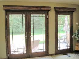Simple Bedroom Window Treatment Treatments For French Doors Simple Window Treatments For French