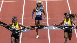 Sha'Carri Richardson finishes ...