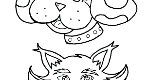 Coloring Pages Cats And Dogs Coloring Pages Cat Dog Page And