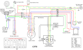 other diagrams honda ct70 wiring diagram drawing a