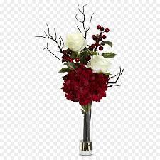 Tisch Blumen Weihnachten Hortensie Künstliche Blume