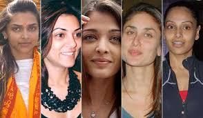 top 30 bollywood actress makeup and without makeup