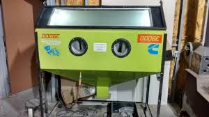 Sand Blasting Cabinets Blasting Cabinet Diy Homemade Abrasive Blasting Cabinet Youtube