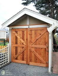 hinged barn doors. Hinged Barn Door Designs Best Shed Doors Ideas On Garden And O
