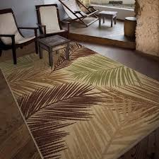 beach decor area rug tropical beige brown palm tree 5x8 area rugs coastal design