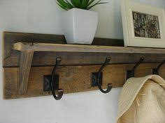 Diy Wall Mounted Coat Rack Coat Rack with Floating Shelf Wall mounted coat rack Rustic walls 32