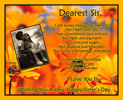 For My Sister With Love Free Sister's Day ECards Greeting Cards Custom Sis Love My Com