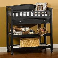 Child Craft Watterson Changing Table in Distressed Black FREE SHIPPING