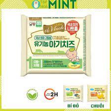 Date 12/2021] Phô mai tách muối hữu cơ hàn quốc cho bé ăn dặm De Vinch -  Tạp hoá mint chính hãng 42,000đ