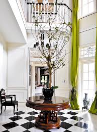 round foyer table ideas