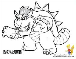 Coloring Bros Coloring Pages Free Printable Bro Super Coloring