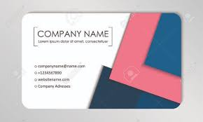 business card tamplate modern business card template business cards with company logo