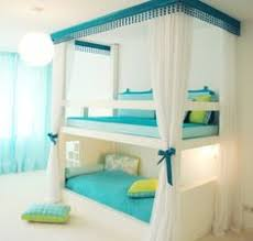 cool beds for teens for sale. Bunk Beds For Twin Girls With Blue Bedding And White Curtains : Girls. Bed Twins,bunk Furniture,bunk Girls,twin Cool Teens Sale D