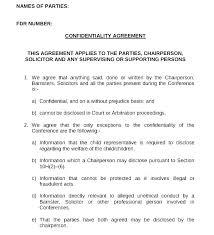 Nda Template Agreement General Nda Template Free Confid Agreement Template Download