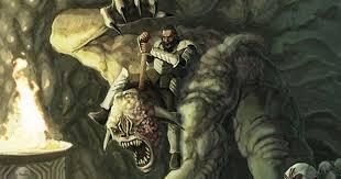 monster creature grendel. Delighful Monster Beowulf Fighting Grendelu0027s Mother Beside Body Inside Monster Creature Grendel O
