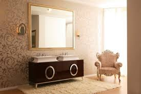 luxury bathroom furniture. Luxury Bathroom Furniture With Gold Or Silver Covering Hermitage By Oasis