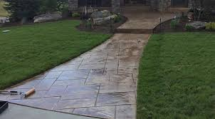 stamped concrete overlay. Stamped Concrete Aurora CO Overlay
